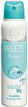 Parfémy, Parfumerie, kosmetika Breeze Deo Spray Neutro 48h - Tělový deodorant