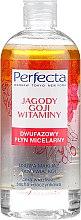 Parfémy, Parfumerie, kosmetika Dvoufázová micelární tekutina na obličej Goji a vitamíny - Perfecta