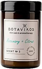 Parfémy, Parfumerie, kosmetika Botavikos Rosemary&Citrus - Vonná svíčka