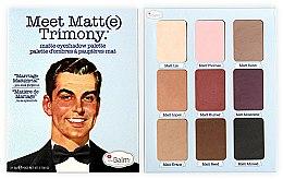 Parfémy, Parfumerie, kosmetika Paleta očních stínů - TheBalm Meet Matt(e) Trimony Matte Eyeshadow Palette