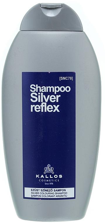 Stříbrný barevný šampon - Kallos Cosmetics Silver Reflex Shampoo