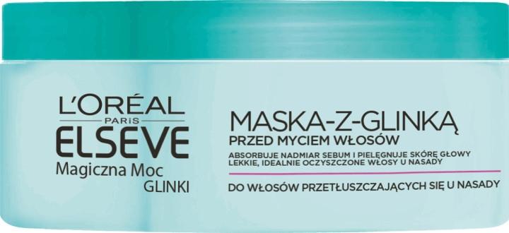 Maska pro normální a mastné vlasy - L'Oreal Paris Elseve Extraordinary Clay Mask — foto N2