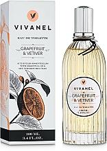 Parfémy, Parfumerie, kosmetika Vivian Gray Vivanel Grapefruit & Vetiver - Toaletní voda