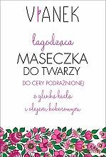 Parfémy, Parfumerie, kosmetika Uklidňující maska na obličej - Vianek