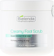 Parfémy, Parfumerie, kosmetika Krémový peeling na nohy - Bielenda Professional Foot Paradise Creamy Foot Scrub With Almond Oil And Urea