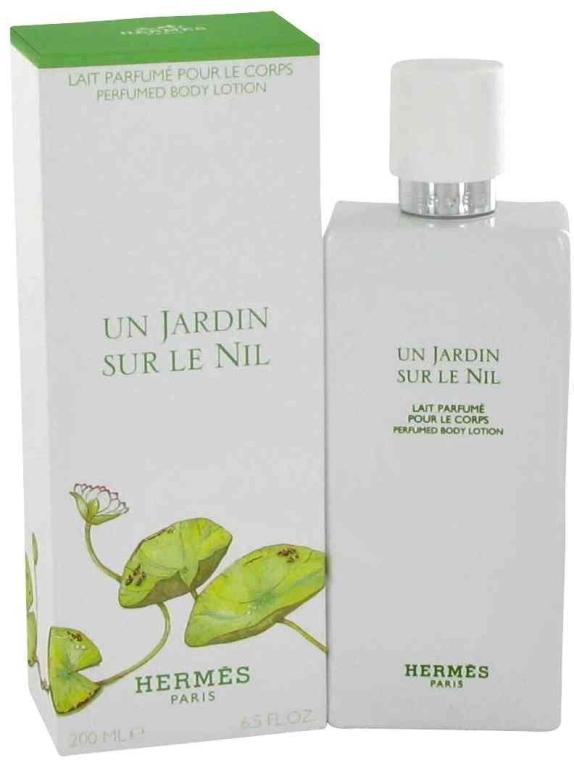 Hermes Un Jardin sur le Nil - Tělové mléko — foto N1