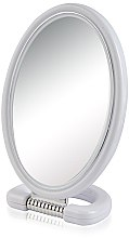 Parfémy, Parfumerie, kosmetika Kosmetické zrcadlo 9510, oválné, oboustranné, 22,5 cm, šedé - Donegal Mirror