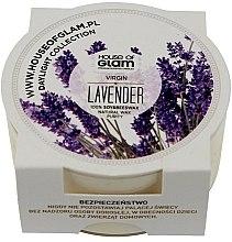 Parfémy, Parfumerie, kosmetika Aromatická svíčka - House of Glam Virgin Lavender Candle (mini)