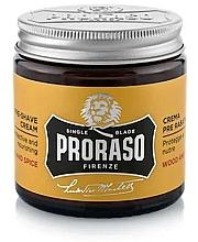 Parfémy, Parfumerie, kosmetika Krém před holením - Proraso Wood and Spice Pre-Shaving Cream