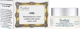 Parfémy, Parfumerie, kosmetika Zvlhčující krém na obličej - Sostar Moisturizing Face Cream Enriched With Donkey Milk