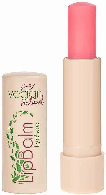 Balzám na rty Liči - Vegan Natural Lip Balm For Vegan Lychee
