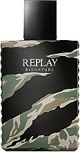 Parfémy, Parfumerie, kosmetika Replay Signature For Men Replay - Toaletní voda