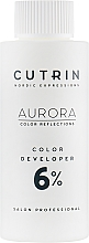 Parfémy, Parfumerie, kosmetika Oxidační činidlo 6% - Cutrin Aurora Color Developer