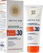 Parfémy, Parfumerie, kosmetika Hypoalergenní plet'ová voda na opalování - DAX Sun Dermo Line Body Lotion SPF 30