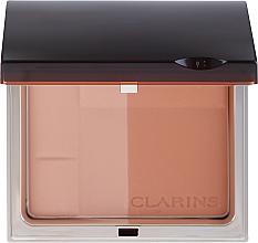 Parfémy, Parfumerie, kosmetika Bronzující minerální kompaktní pudr - Clarins Bronzing Duo Mineral Powder Compact SPF 15