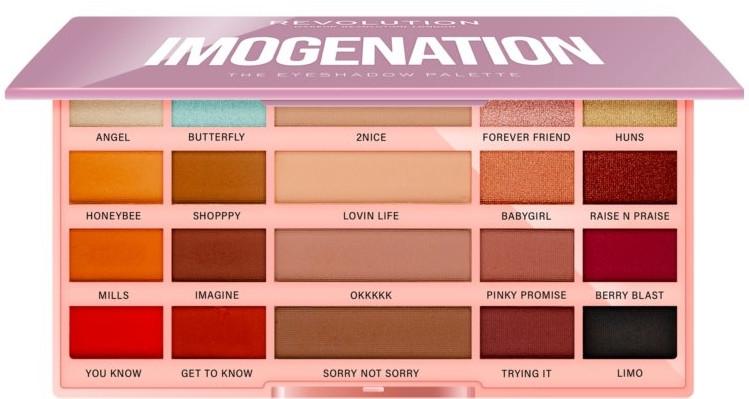 Paletka očních stínů - Makeup Revolution X Imogenation Eyeshadow Palette