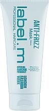 Parfémy, Parfumerie, kosmetika Vyhlazující maska - Label.m Anti-Frizz Mask