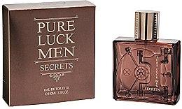 Parfémy, Parfumerie, kosmetika Linn Young Pure Luck Men Secrets - Toaletní voda