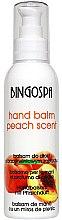 Parfémy, Parfumerie, kosmetika Balzám na ruce broskvový - BingoSpa