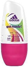 Parfémy, Parfumerie, kosmetika Deodorant - Adidas Anti-Perspirant Get Ready Cool&Care 48h