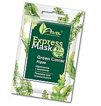 Parfémy, Parfumerie, kosmetika Pleťová maska s mořskými řasami - Ava Laboratorium Beauty Express Mask Green Caviar Algae