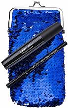 Parfémy, Parfumerie, kosmetika Sada - NoUBA Eye'M Maxitech Lift Up Mascara (mascara/18ml + eye/pen/1.1g + bag)