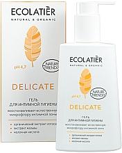 Parfémy, Parfumerie, kosmetika Gel pro intimní hygienu s organickým extraktem lotosu - Ecolatier Delicate