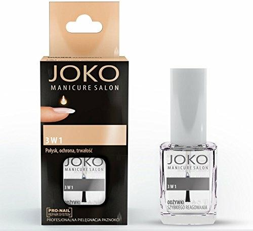 Prostředek na nehty 3v1 - Joko Manicure Salon 3 in 1 Top — foto N1