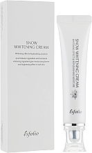 Parfémy, Parfumerie, kosmetika Hydratační krém pro rozjasnění pleti - Esfolio Snow Whitening Cream