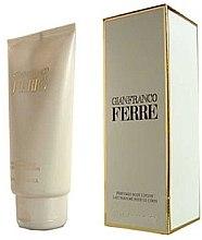 Parfémy, Parfumerie, kosmetika Gianfranco Ferre Camicia 113 - Parfémované tělové mléko