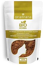 Parfémy, Parfumerie, kosmetika Bezbarvý kondicionér pro dlouhé vlasy - Orientana Bio Henna Herbal Long Hair Conditioner