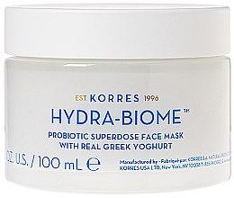Parfémy, Parfumerie, kosmetika Maska na obličej s řeckým jogurtem - Korres Greek Yoghurt Hydra-Biome Probiotic Superdose Face Mask