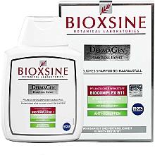 Parfémy, Parfumerie, kosmetika Šampon proti vypadávání vlasů a proti lupům - Biota Bioxsine Dermagen Anti-Hair Loss Herbal Shampoo Anti-Dandruff