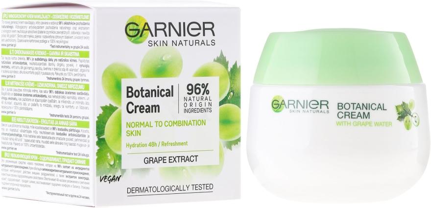 Krém na obličej - Garnier Skin Naturals Botanical Grape Extract