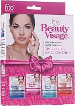 Parfémy, Parfumerie, kosmetika Sada - Fito Kosmetik Beauty Visage (4xmask/25ml)
