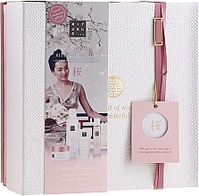 Parfémy, Parfumerie, kosmetika Sada - Rituals The Ritual Of Sakura (sg/gel/200ml + b/cr/70ml + mist/50ml + scrub/125g)