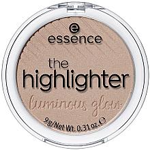 Parfémy, Parfumerie, kosmetika Rozjasňovač na tvář - Essence The Highlighter Lumirous Glow