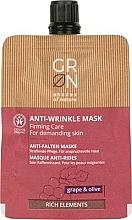 Parfémy, Parfumerie, kosmetika Pleťová maska - GRN Rich Elements Grape & Olive Cream Mask