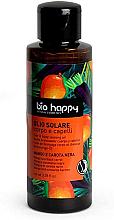 Parfémy, Parfumerie, kosmetika Opalovací olej Mango a černá mrkev - Bio Happy Hair & Body Tanning Oil Mango And Black Carrot