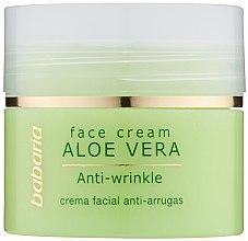 Parfémy, Parfumerie, kosmetika Krém na obličej s aloe vera - Babaria Aloe Facial Wrinkle Cream
