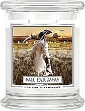 Parfémy, Parfumerie, kosmetika Vonná svíčka ve skle - Kringle Candle Far Far Away
