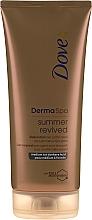 Parfémy, Parfumerie, kosmetika Bronzující tělové mléko - Dove Derma Spa Summer Revived Medium To Dark Skin Body Lotion