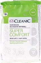 Parfémy, Parfumerie, kosmetika Ubrousky pro intimní hygienu, 10 ks - Cleanic Super Comfort Wipes