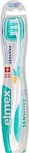 Parfémy, Parfumerie, kosmetika Měkký zubní kartáček, tyrkysově -žlutý - Elmex Sensitive Toothbrush Extra Soft