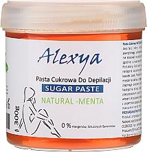 Parfémy, Parfumerie, kosmetika Depilační cukrová pasta s mátou - Alexya Sugar Paste Natural Menta