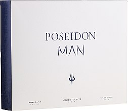 Parfémy, Parfumerie, kosmetika Instituto Espanol Poseidon - Sada (edt/150ml+ash/balm/150ml+sh/gel/150ml)