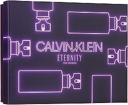Parfémy, Parfumerie, kosmetika Calvin Klein Eternity For Woman - Sada (edp/100ml + edp/10ml + b/l/100ml)