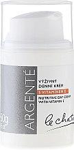 Parfémy, Parfumerie, kosmetika Výživný denní krém s vitamínem E - Le Chaton Argente Nourishing Day Cream with Vitamin E