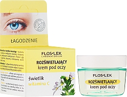 Parfémy, Parfumerie, kosmetika Rozjasňující oční krém s vitamínem C - Floslek