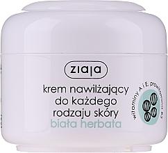"""Parfémy, Parfumerie, kosmetika Hydratační krém na obličej """"Bílý čaj"""" - Ziaja Cream White Tea"""